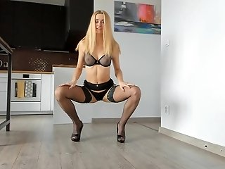Legs Addict Jerk Off Instructions - Sexy Lingerie