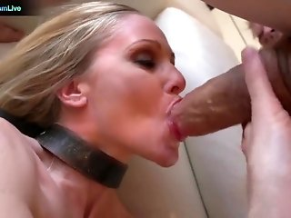 The beautiful Julia Ann getting frisky with Erik Everhard