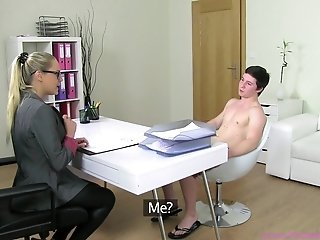Naked Guy At The Porn Casting