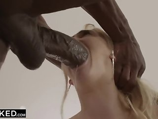 Groupie Finally Hooks up with her BIGGEST BIG BLACK COCK