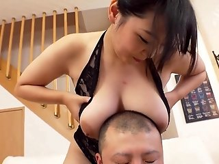 Busty Asian housewife shakes her tits while getting screwed